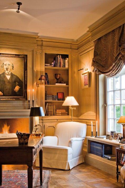 Landhuis in Engelse stijl - inrichting door Lefèvre Interiors ...