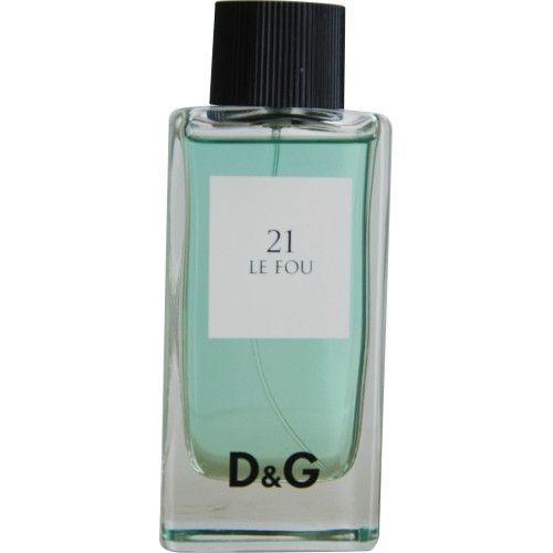 D & G 21 Le Fou By Dolce & Gabbana Edt Spray For Men