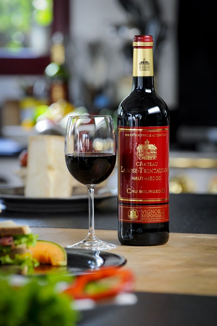 Accord Met Et Vin Vin Rouge Chateau Larose Trintaudon Cru Bourgeois Wijn