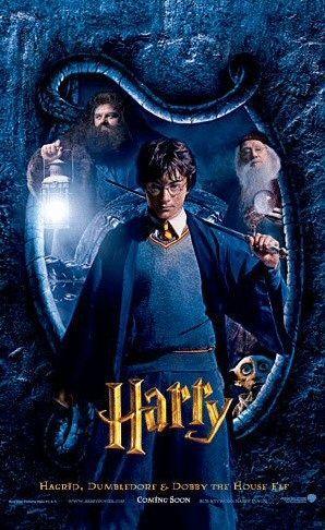 Harry Potter And The Chamber Of Secrets Movie Poster 6 Harry Potter Cast Harry Potter Filmleri Kitap Kapagi Sanati