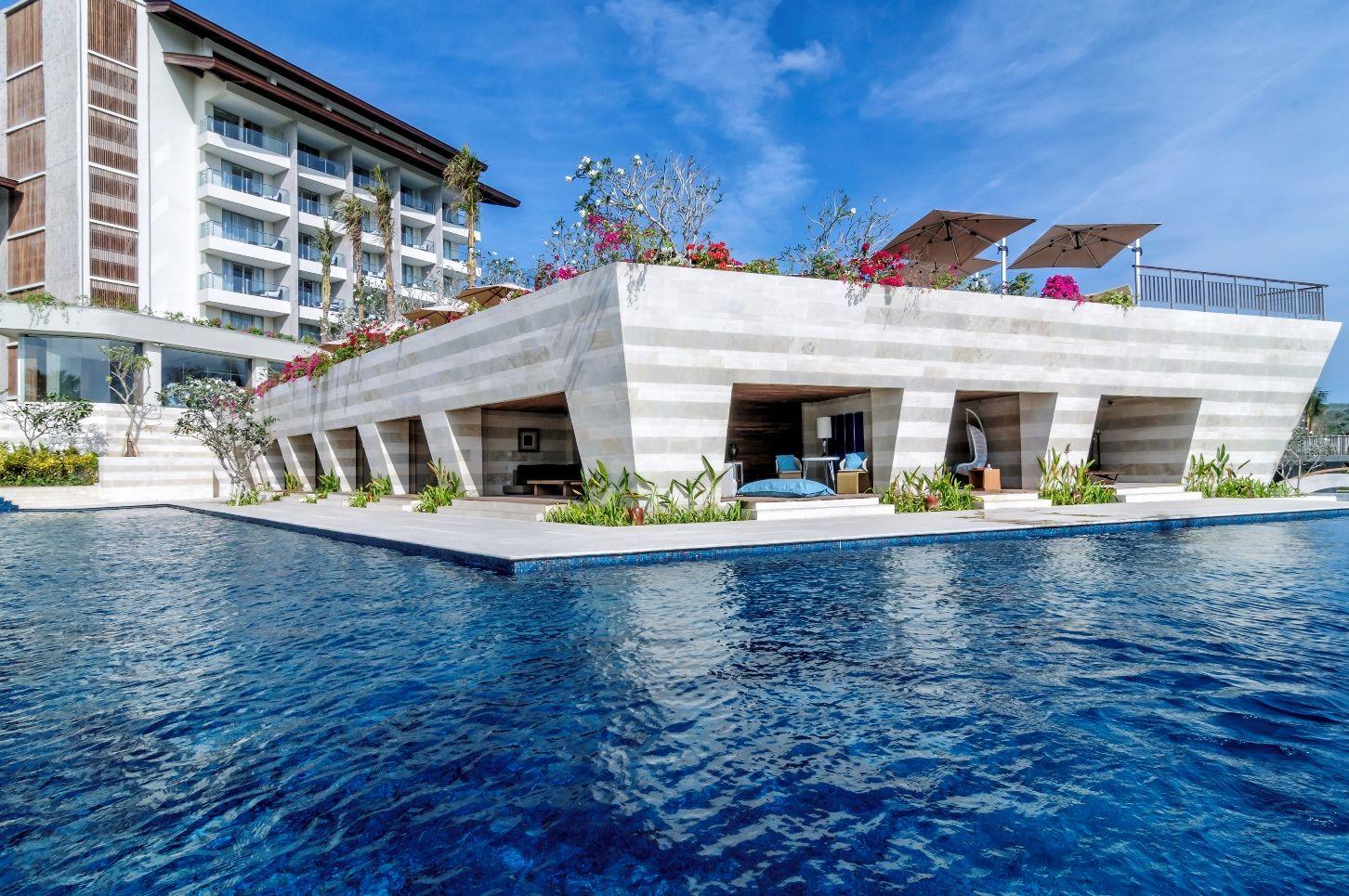 Bali Indonesia Independent Hotels Portfolio Capella Hotel Group Infinity Pool Bali Jimbaran Bali Bali Resort