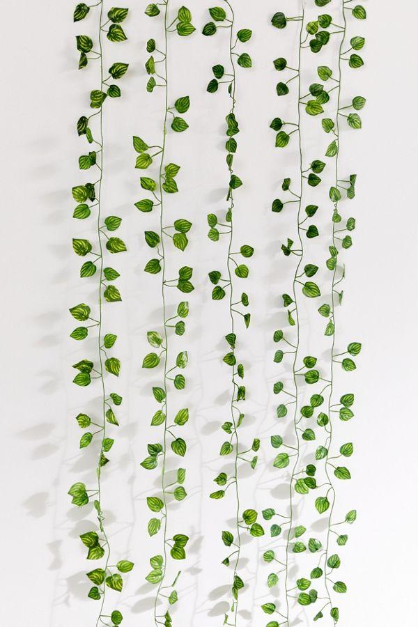 Planting Room Hanging Faux Hanging Vine Garland In 2020 Hanging Vines Fake Plants Decor Hanging Plants