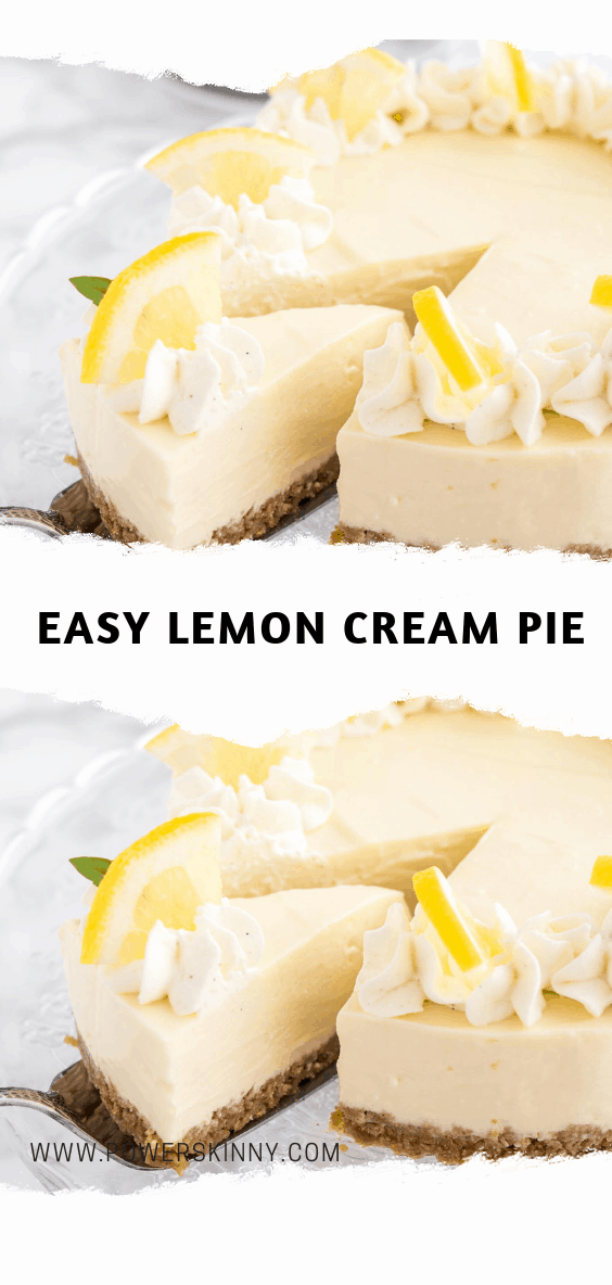 Easy Lemon Cream Pie Page 2 Of 2 Min Yx Games Lemon Cream Pies Lemon Pie Recipe Lemon Pie Recipe Condensed Milk