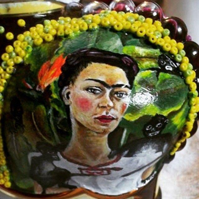 Ilustracion de Frida