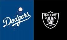 Oakland Raiders Dodgers 3ft X 5ft Flag 64 Best Discount 75 Off Raiders Flag Oakland Raiders Banner Printing