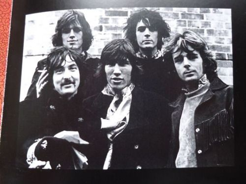 Beautiful image of Pink Floyd in full.