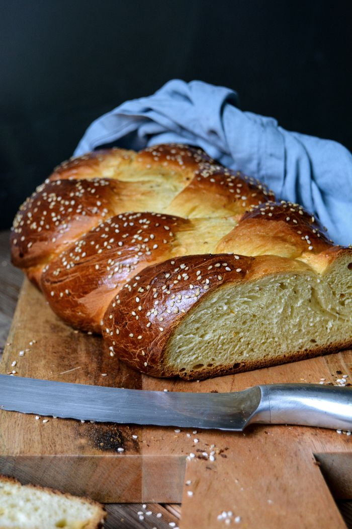 Tsoureki - Greek Braided Easter Bread with Aniseed and Orange Blossom Water ° eat in my kitchen | Meike Peters