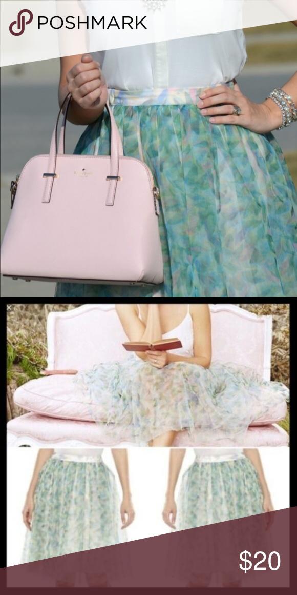 LC Lauren Conrad Disney Cinderella Tulle Skirt XS Limited
