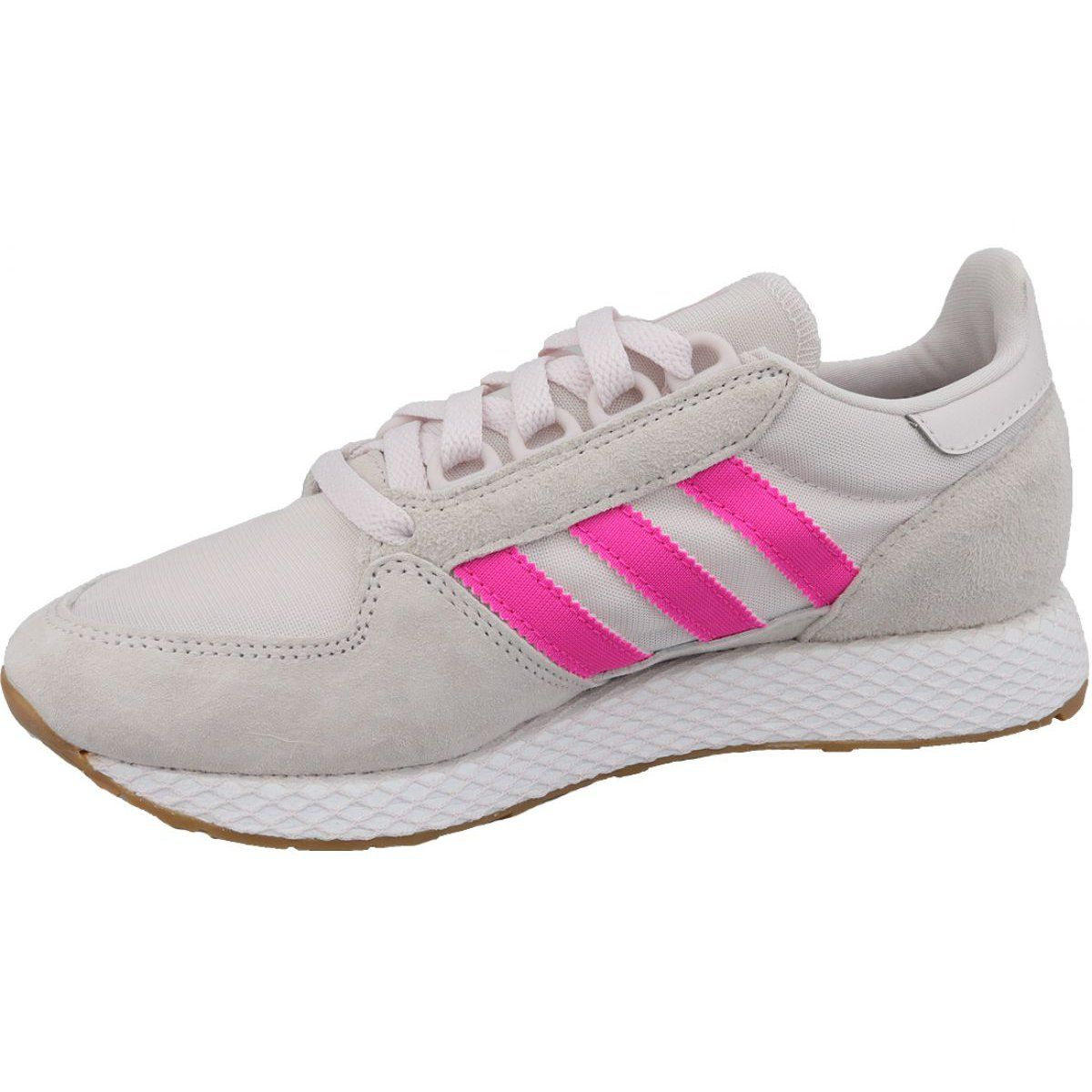 Buty Adidas Forest Grove W Ee5847 Biale Adidas Sports Footwear Adidas Shoes Women