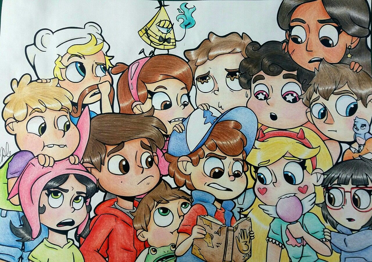 Cartoon fanart this is the most beautiful thing I've