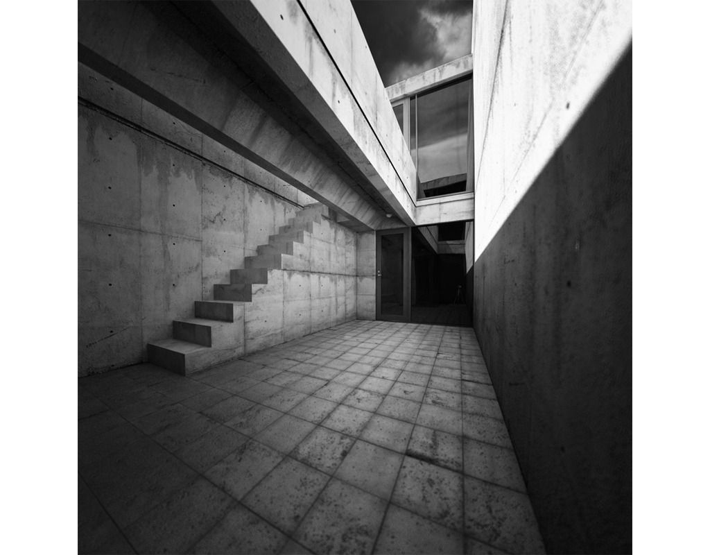 Ando tadao rokko house pinterest - A Test Made With Ronen Bekerman Model Of Tadao Ando Azuma House