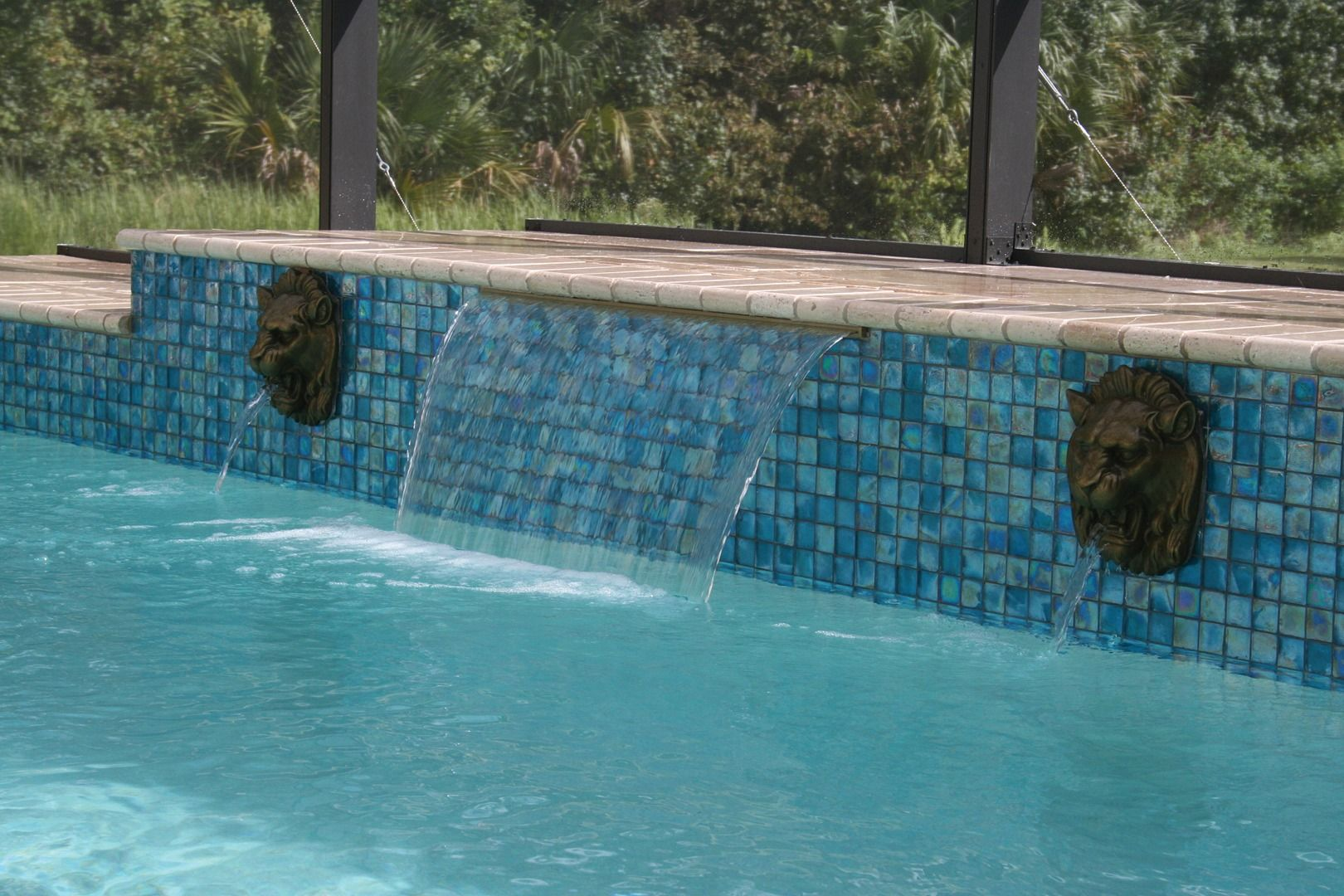 Pure Reflections Excalibur Glass Mosaic | Pool Tile | Pinterest ...
