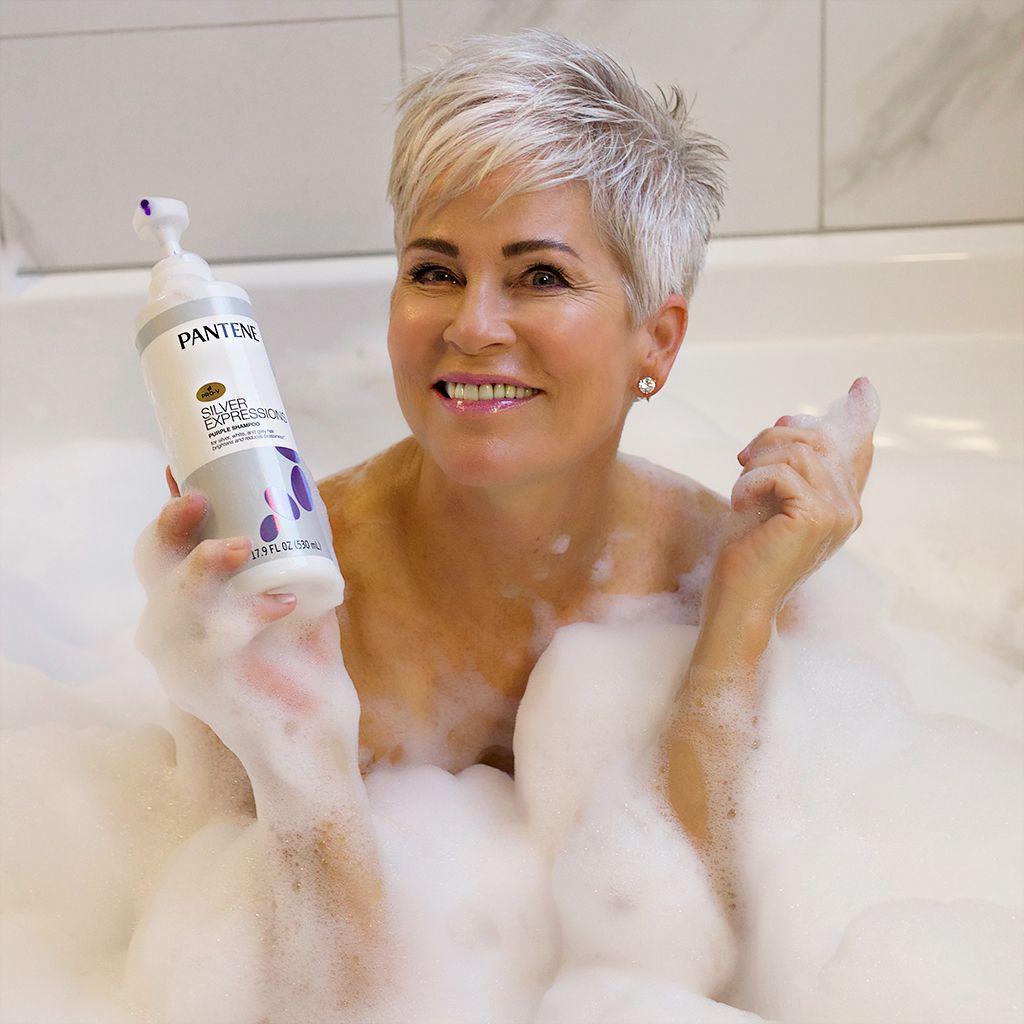 Pantene Purple Shampoo Is It - Chic Over 50