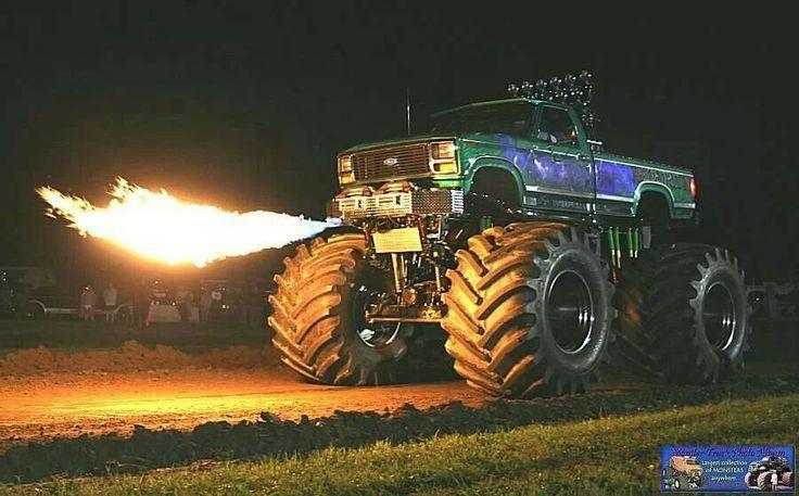 Fire Breathing Monster Truck Monster Trucks Big Monster Trucks Monster Truck Party