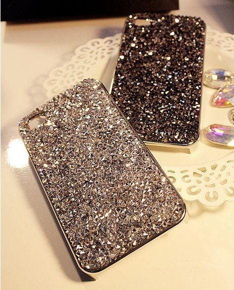 2014 New Rhinestones iphone 5/5s/5c CaseBling Samsung by cclovediy, $19.99