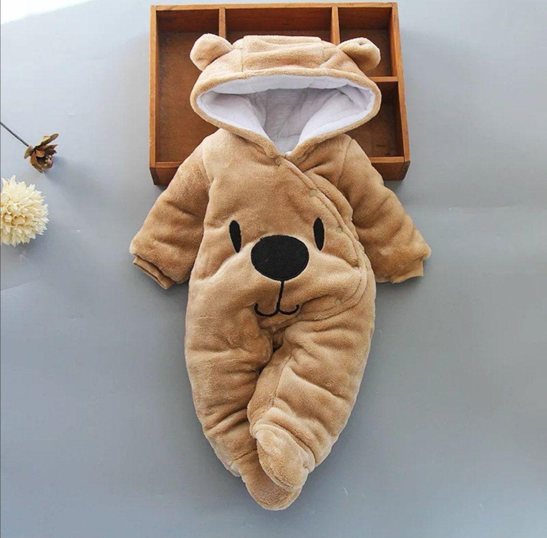 Winter jumpsuit baby bear warm various colors