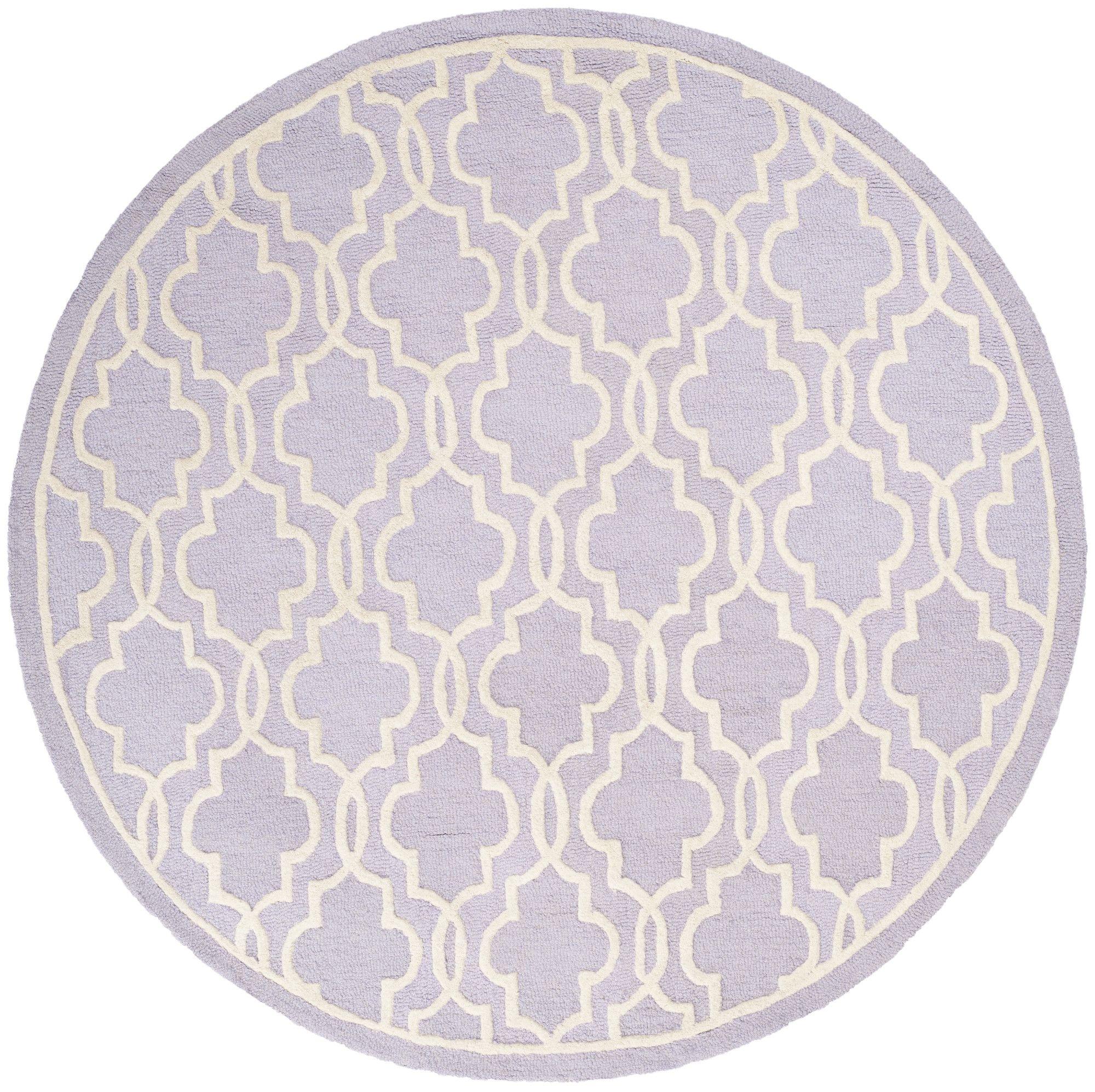 Safavieh Cambridge Lavender / Ivory Area Rug & Reviews | Wayfair