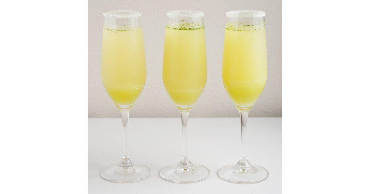 Limoncello Champagne Cocktail Recipe | POPSUGAR Food