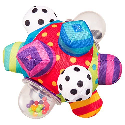 How To Strengthen The Body And Brain Home Exercises For Babies Baby Ball Toy Best Baby Toys Baby Developmental Toys