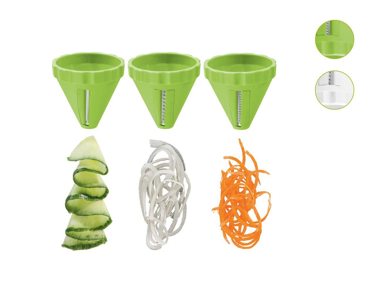 Ernesto Spiral Vegetable Cutter Set - at Lidl UK | Kitchen tips ...