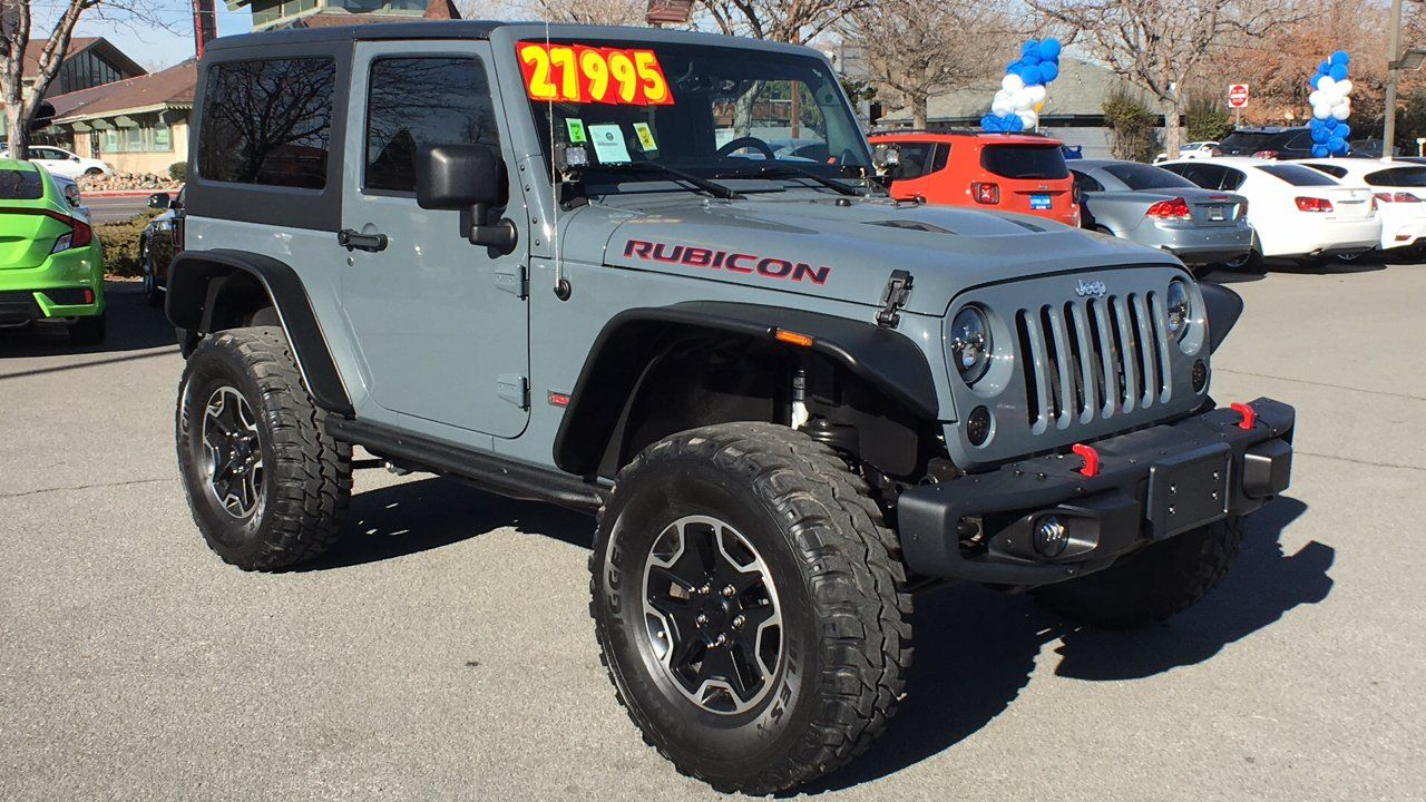 Cars For Sale Used 2013 Jeep Wrangler 4wd Rubicon For Sale In