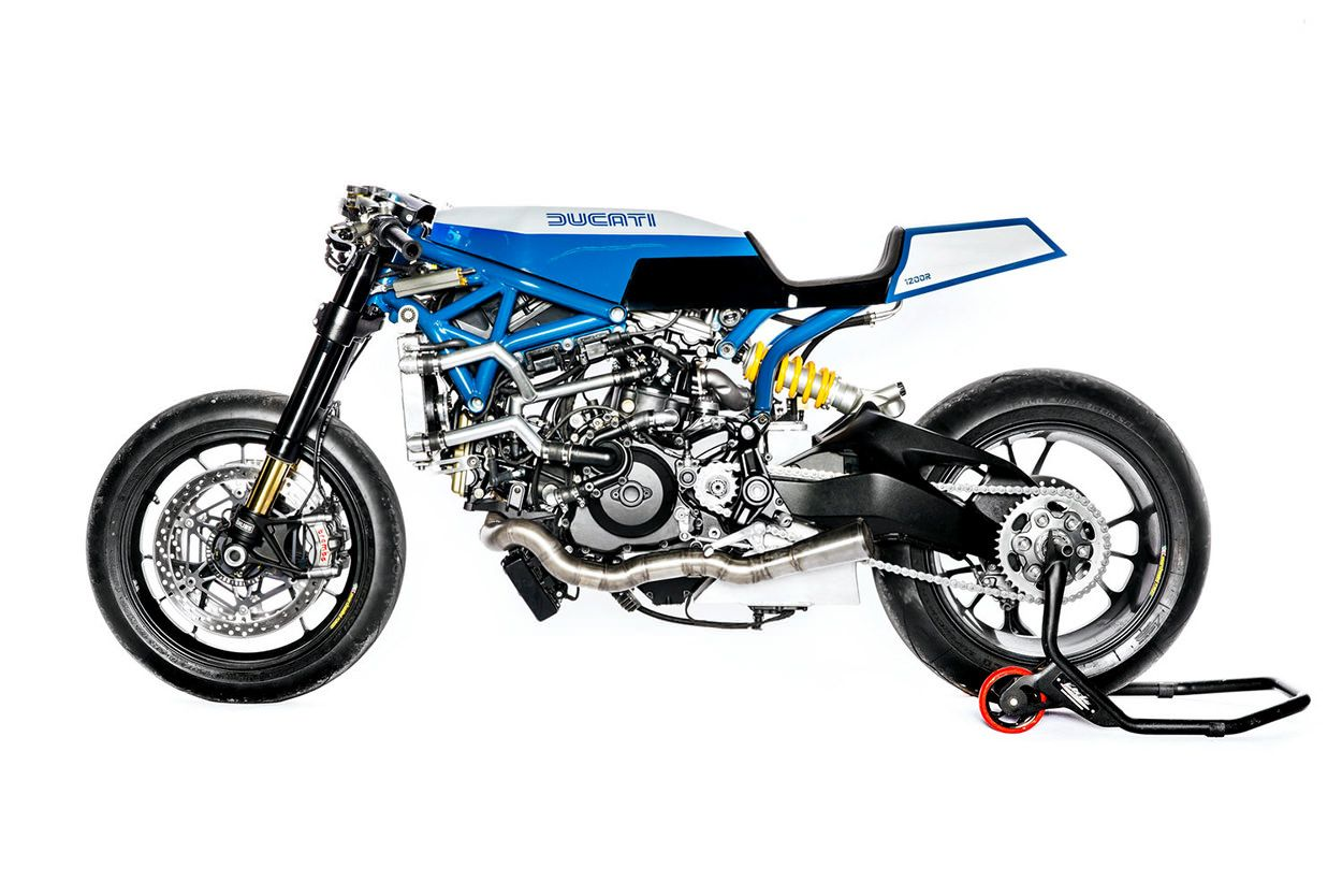 Ducati Monster 1200R by Young Guns Speed Shop of Switzerland.