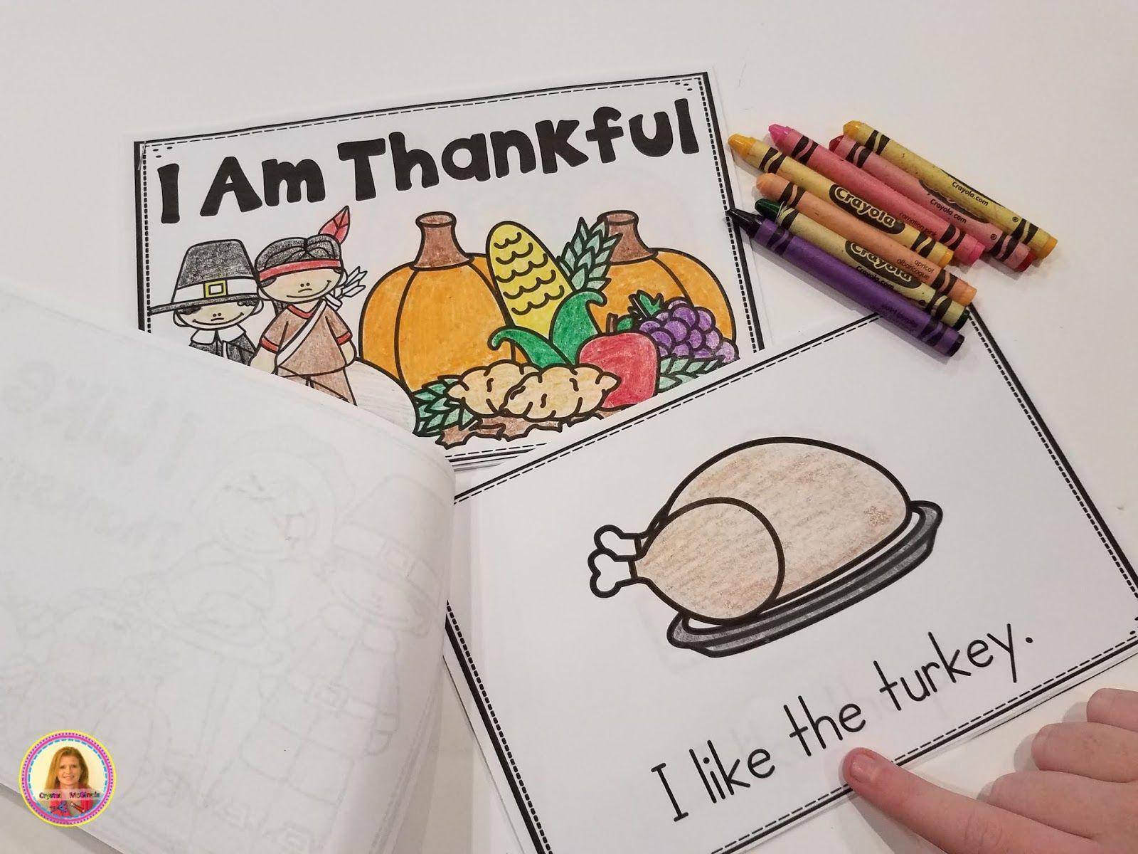 Kindergarten Books And Poems For Thanksgiving