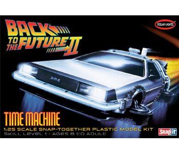 Back To The Future Ii Time Machine Plastic Model Kits Model Kit