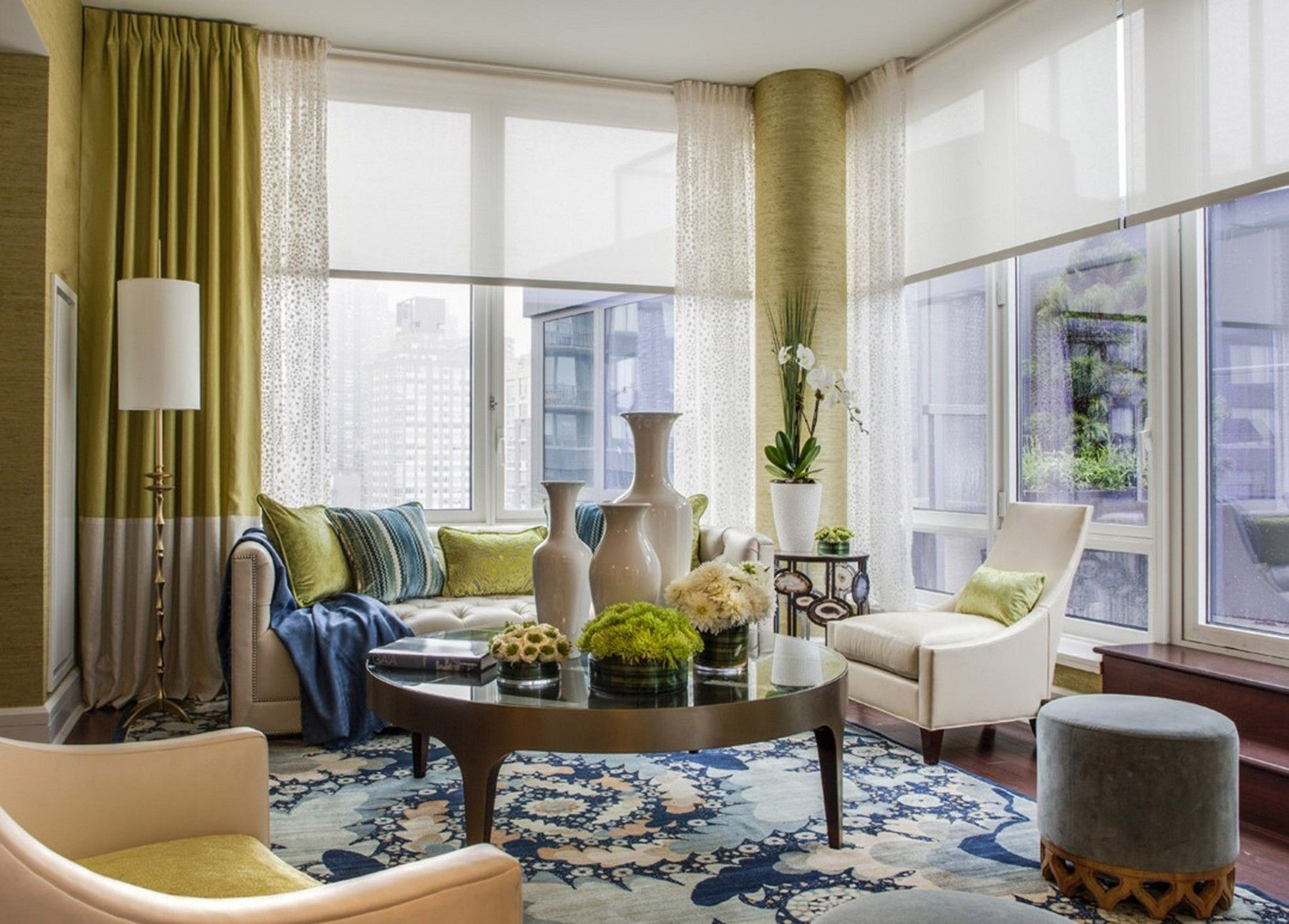 The Most Effective Solutions To Your Bay Window Curtains Window Treatments Living Room Living Room Windows Beautiful Living Rooms #off #white #curtains #living #room