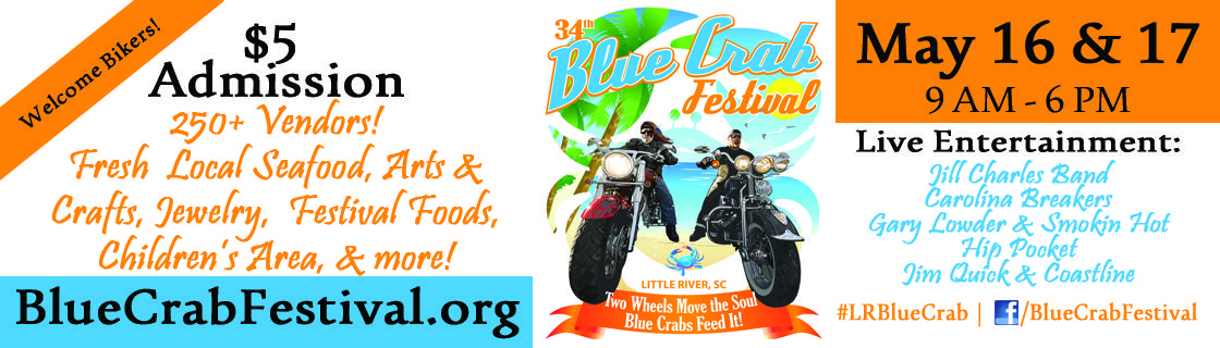 The 34th Annual World Famous Blue Crab Festival on May 16