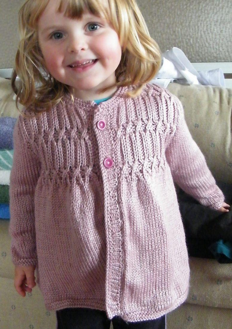 Free Knitting Pattern for Strawberry Hill Cardigan - Cardigan ...