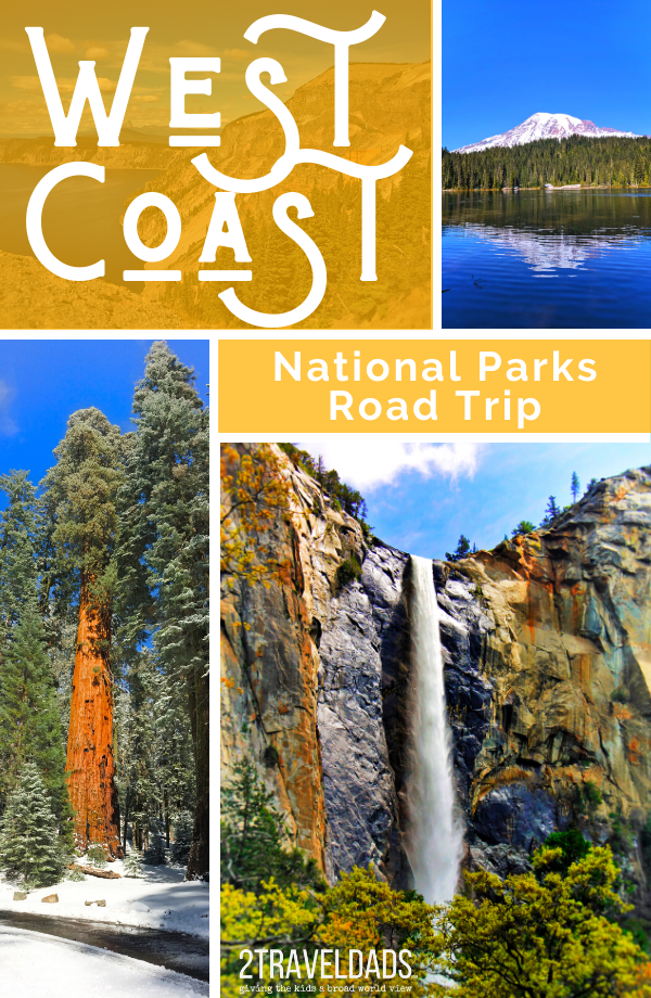 West Coast National Parks road trip: the mountains