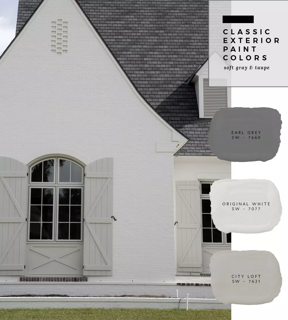 Exterior Paint Color Combinations - Room for Tuesday