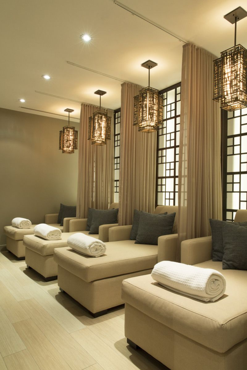 Taboo spa by cecconi simone inc deco spas interior design also the nail lounge miramarnails on pinterest rh