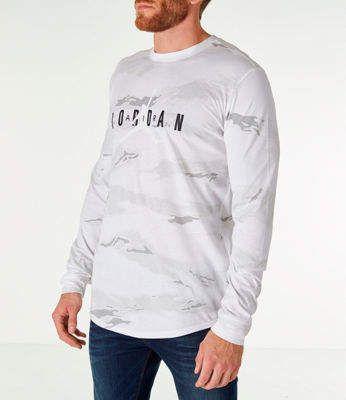 e9afb3c890dd Nike Men s Jordan Sportswear Camo Tech Long-Sleeve T-Shirt