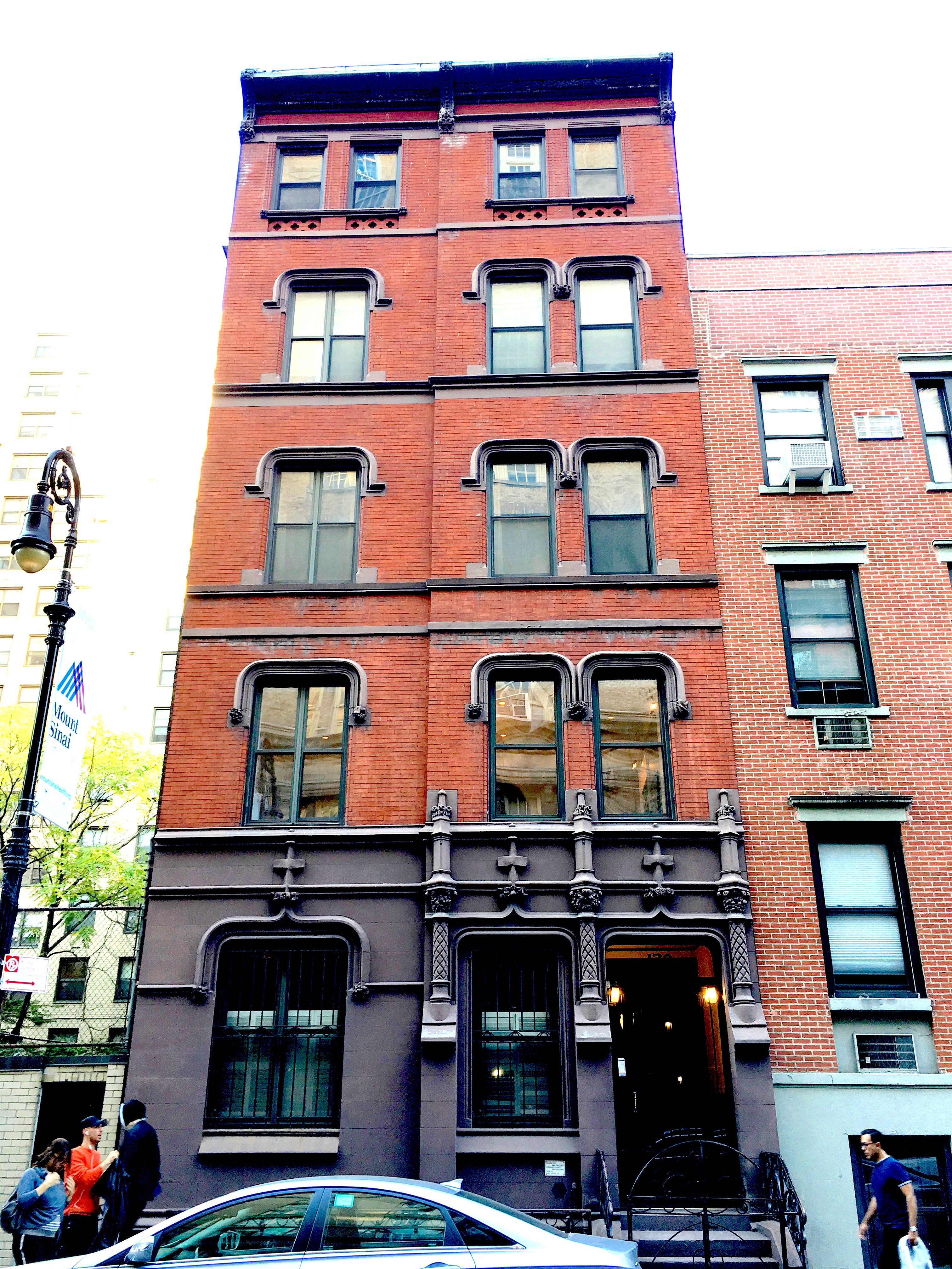 It S A Five Story Red Brick And Brownstone Jewel With French Gothic Touches At 129 East 17th Street Of Irving Place This Lovely Yet Unassuming Walkup