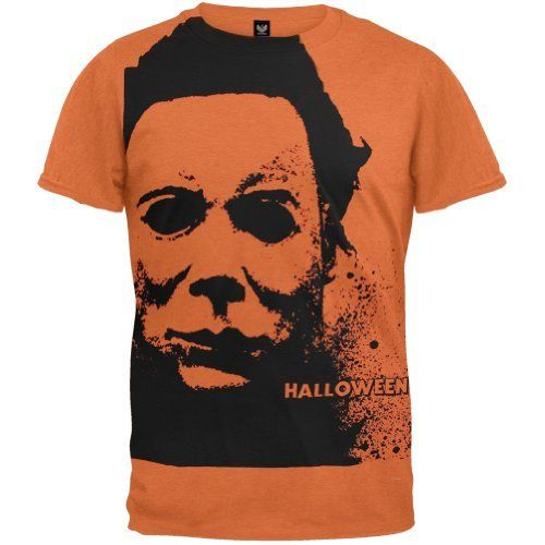 T-Shirt - Halloween - Splatter Mask (Slim Fit) @ niftywarehouse.com #NiftyWarehouse #Halloween #Scary #Fun #Ideas