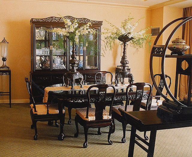 Pin By Mary Clare On Asian Style Decor Festive Dining Room