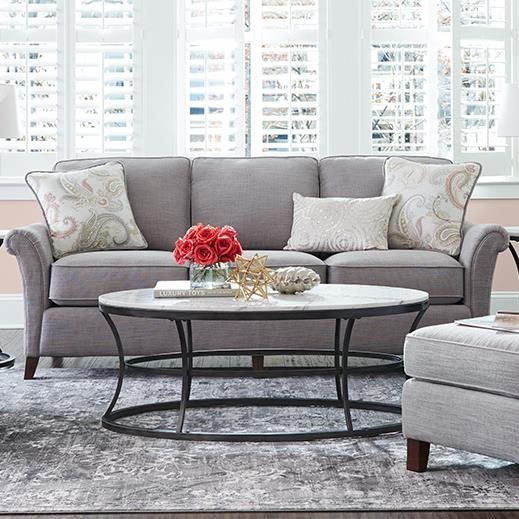phoebe premier stationary sofa by la z boy furniture in 2018 rh pinterest co uk