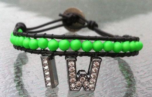Customized Bracelet by BuffaloBeads1 on Etsy, $15.00