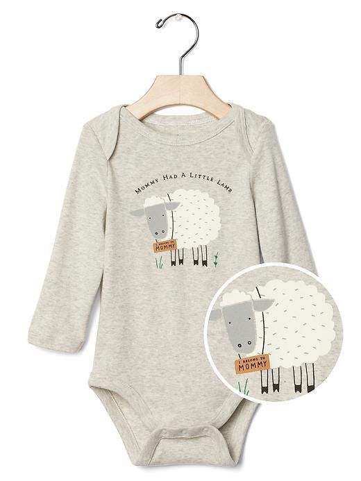 Gap Onesie Mommy Had A Little Lamb All Things Sheep