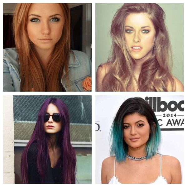 I'm thinking a about these color for dying my hair