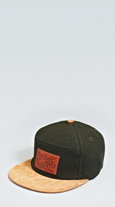 21decf04 I Love Ugly Army Green Six Panel | His Hat | Ropa