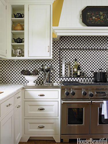 55 Chic Kitchen Backsplash Ideas That Will Transform The Entire Room Chic Kitchen Kitchen Tiles Design Kitchen Backsplash