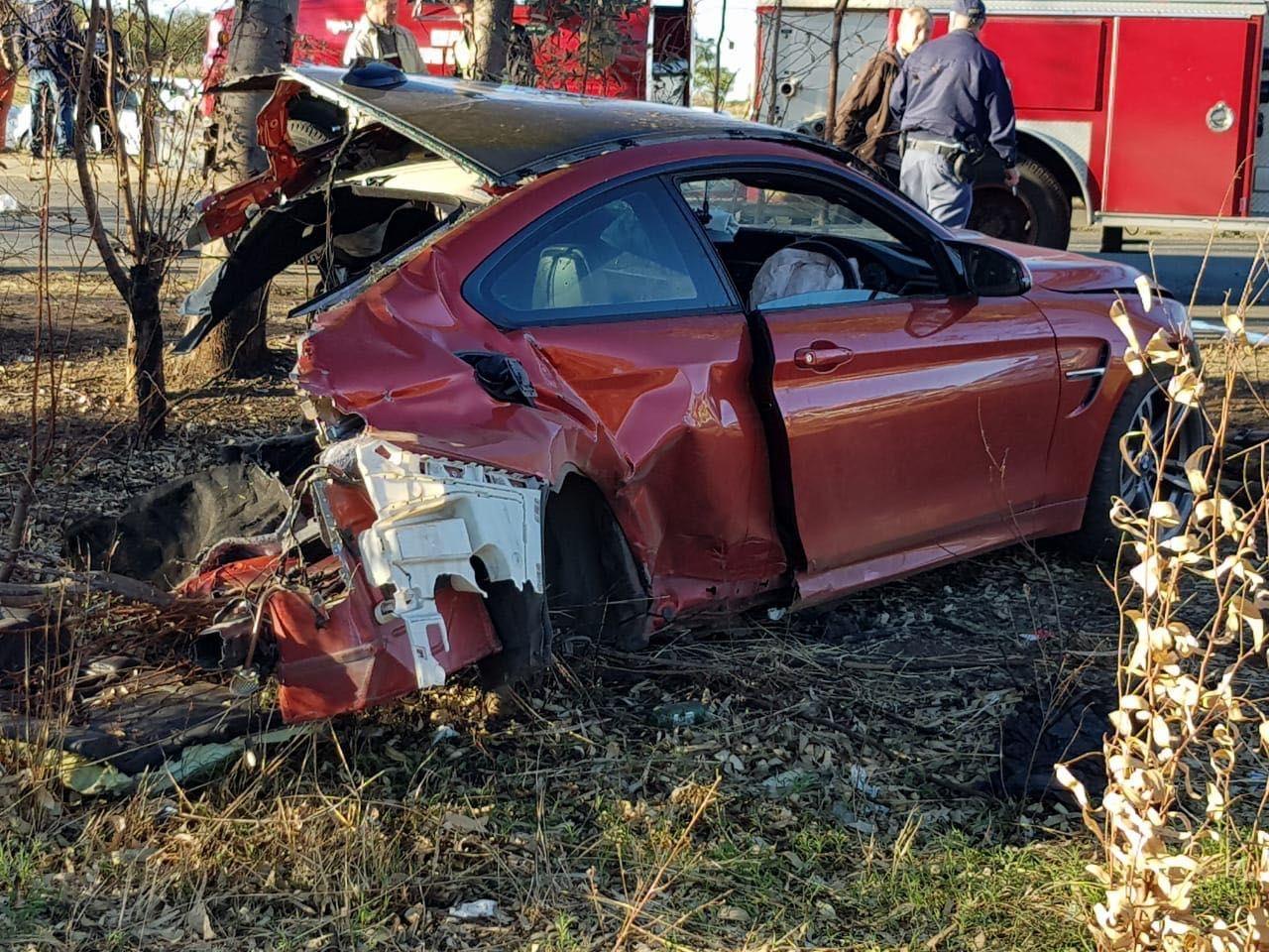 Dj tskull killed in severe bmw m4 crash in south africa