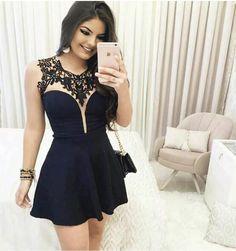 e2e1adf773c4 vestido curto + bojo panicat rodado lindo e barato | Lívia♡ em 2019 ...