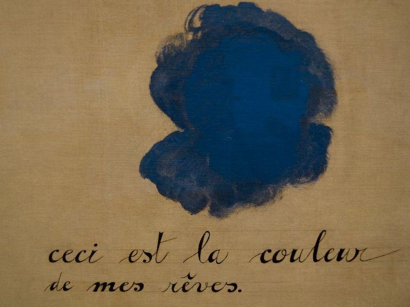 Ceci est la couleur de mes rêves (This is the color of my dreams ...