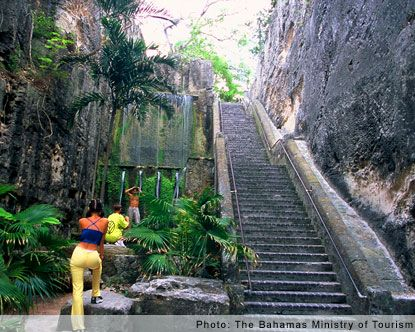 The Nassau Queens Staircase Is A Set Of Steps Located On Nassau