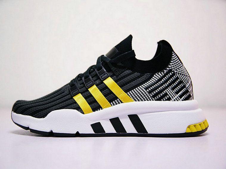 best service d0390 7cc2a Adidas EQT Cushion ADV Pk Black Grey Yellow Cq2996 Most Popular Shoe
