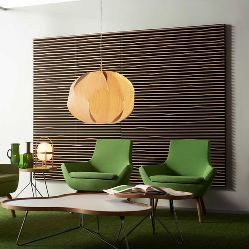 panneau acoustique en bois mural aspect bois pour tablissement public noton by claesson. Black Bedroom Furniture Sets. Home Design Ideas